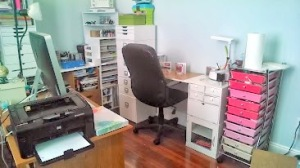 my craftroom/office